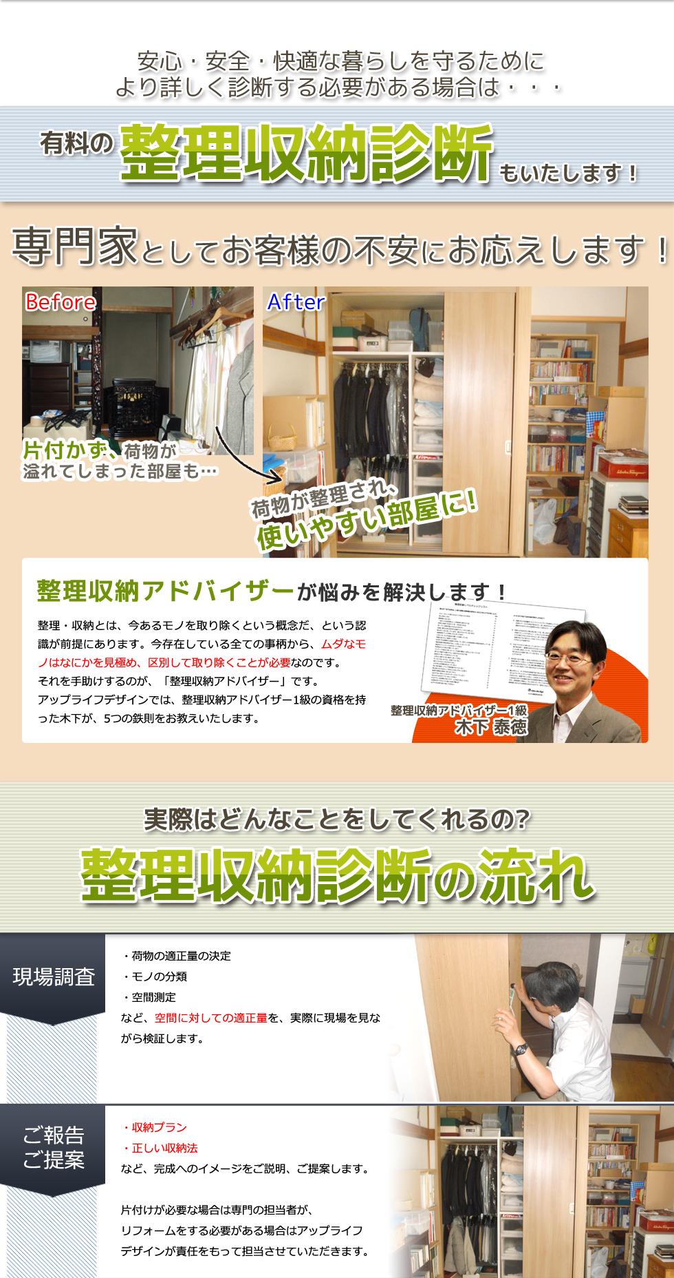 練馬区 東京 整理収納診断 リフォーム リノベーション